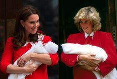 Katalin hercegné és Diana hercegnő stílusa - Glamour Pippa Middleton, Kate Middleton Outfits, Princesa Charlotte, Princesa Diana, Princess Diana Photos, Princess Anne, Princess Of Wales, Lady Diana, Gianni Versace