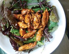 CLEAN program  Sweet and Sour Chicken with Mixed Greens