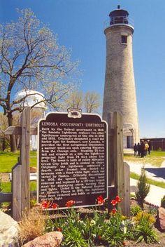 Kenosha Southport Lighthouse, Wisconsin | Lake Michigan