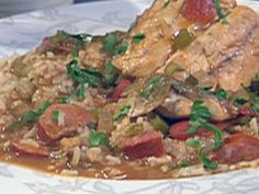 Creole Redfish Court-bouillon Recipe adapted from From Emeril's Kitchens, WilliamMorrow Publishers, New York, 2004 Louisiana Recipes, Cajun Recipes, Seafood Recipes, Cajun Food, Seafood Dishes, Emeril Live, Redfish Recipes, Kitchens