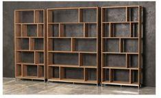 Home - Het Kabinet Creative Bookshelves, Bookshelf Design, Bookcase Shelves, Room Shelves, Shelving, Bookcases, Homemade Bookshelves, Home Office Design, Interior Design Living Room
