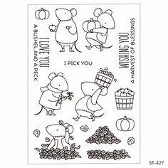 Stamp Cartoon Lovely Mouse Set Ali Express