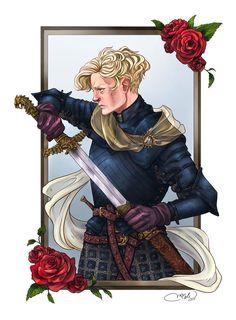 Brienne Of Tarth by ApricotKnight.deviantart.com on @DeviantArt