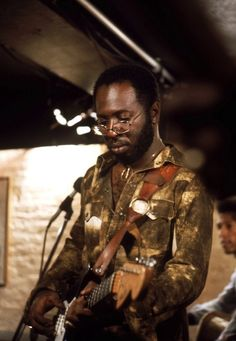 """The late great Curtis Mayfield. """"Diamond in the back, sunroof top, digging the scene with the gangsta lean wooh, woooh, wooh."""""""