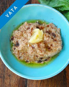 Hot Cereal with Raisins. This breakfast offers just the right touch of sweet, sour, and salty.