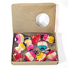 Box Honeycomb Tissue Paper Lanterns Christmas Ornaments