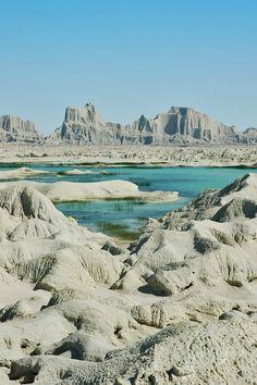 Martian Mountains (Miniature Mountains) of Chabahar, South East of Iran, Sistan & Baluchestan Province, Iran (in Persian: کوههای مریخی چابهار)