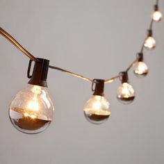 Construction Light String Ever Led Light Bulbs  Capstone  Pinterest  Light Bulb Bulbs And