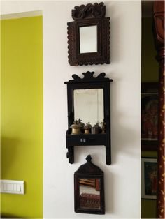 Antique Mirrors -- Sanskriti Lifestyle, Pune. Love the one on the top.