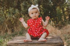 6 Month Photoshoot  Portrait Photographer  Fresno, CA  Michelle Carlson Photography  www.michellecarlsonphotography.com