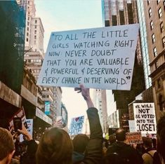 24 Signs From Trump Protests That Will Make You Feel A Little Better Pretty Words, Beautiful Words, Quotes To Live By, Me Quotes, Quotes Women, Happy Quotes, Advertising Quotes, Believe, Allen Ginsberg