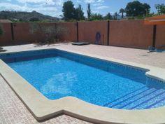 Piscina privada en Alguazas (Murcia), realizada por Sol y Agua 2M. Vea mas en www.solyagua2m.com