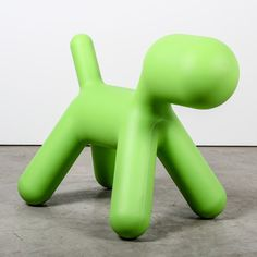 Puppy Large Green, $425, now featured on Fab. I'd like 1! LBx