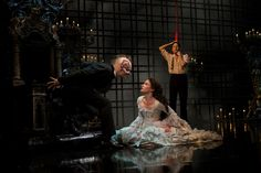 Hugh Panaro, Kyle Barisich, & Sierra Boggess starring in Broadway's The Phantom of the Opera (2013)