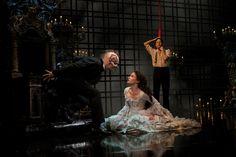 Hugh Panaro, Kyle Barisich, & Sierra Boggess starring in Broadway's The Phantom of the Opera (2013)