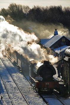 Tanfield Railway, a standard gauge heritage railway in Gateshead and County Durham, England