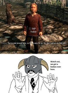 18 Skyrim Memes Funny Elder Scrolls - Next Memes The Elder Scrolls, Elder Scrolls Skyrim, Gamer Humor, Gaming Memes, Gamer Quotes, Video Game Memes, Video Games Funny, Funny Games, Funny Videos