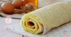 Pasta biscotto o pandispagna arrotolato è una preparazione molto semplice e veloce perfetta per realizzare rotoli e potete farcirla come volete.