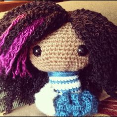 Amigurumi Curly Hair Tutorial : Amigurumi Tips, Tutorials on Pinterest Amigurumi, Doll ...