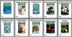 * Follows Common Core Standards *This Magic Tree House Fact Tracker BUNDLE : Animals contains 10 Book Studies based on Magic Tree House Fact Trackers about Animals.  In total, there are 257 pages.  This download includes 10 book studies based on the following Magic Tree House Fact Trackers:Dinosaurs Fact TrackerDog Heroes Fact TrackerDolphins and Sharks Fact TrackerHorse Heroes Fact TrackerPandas and Other Endangered Species Fact TrackerPenguins and Antarctica Fact TrackerPolar Bears and…