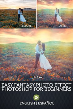 Free tutorial for Photoshop beginners and advanced users. Learn how to create a nice fantasy colorful effect in Photoshop using free stock images