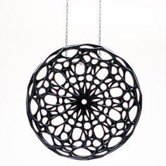 Cellular pendant, Nervous System   3D printed industrial design #3DPrinting #fabrication #industrialdesign