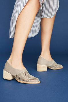 24a5e624ede Shop the Jeffrey Campbell Branwen Perforated Booties and more Anthropologie  at Anthropologie today. Read customer