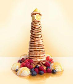 Carl Warner, Pancake Lighthouse
