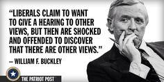 William Buckley ...