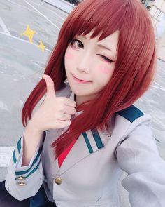 2018第一拍✨✨✨✨ 又忘記IG了(欸 #cosplay #麗日お茶子 #myheroacademia