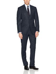 Fensajomon Mens Business Casual Lapel Two Buttons Slim Fit Wedding Blazer Jacket Prom Tuxedo