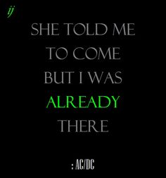 A.C./D.C.--You Shook Me...