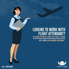 Looking To Work With Flight Attendant ? Get Training for Airline, Airport, Hotel,Travel & Tourism With 100% JOB Placement Assistance  Call: 7090226999  #Airline #Hotel #Travel #Airport #cabincrew #FlightAttendant