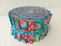 Jelly Roll Poppy Go Lucky by Jolijou Swafing von Sewing Love auf DaWanda.com