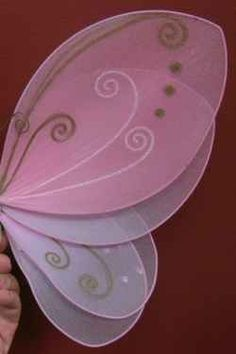 Fairy girls ;) -Instructions on how to make your own fairy wings... -layered…