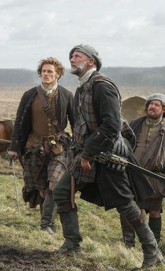 Jamie, Dougal, and Rupert