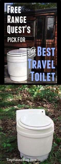 Best travel toilet...No water, no chemicals, no compost, no smell, no venting. Totally new idea.