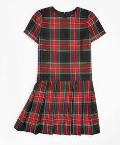 We've completely fallen in love with the current selection of Christmas dresses for little girls so much that we'll happily forfeit the loss from them out dressing us this holiday season. #littlegirlchristmasoutfit #christmasdresses #girlschristmasdress #holidayoutfit #southernliving Little Girl Christmas Dresses, Little Girl Dresses, Little Girls, Tartan Dress, Tartan Pattern, Short Sleeve Dresses, Short Sleeves, Holiday Outfits, Brooks Brothers