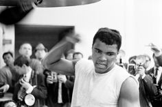 Cassius Clay Training, May 1966