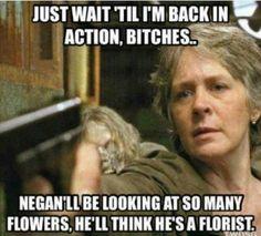 The Walking Dead #Carol #GoodLuckNEGAN #TWD