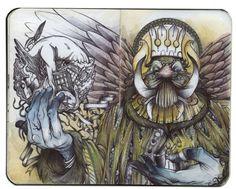 Дэвид Хабен и его потрясающие иллюстрации