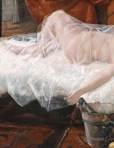 "moerae: ""After the Ball (detail, Franz Georg Kleber "" Angel Aesthetic, Aesthetic Art, Aesthetic Pictures, Renaissance Paintings, Renaissance Art, Princess Aesthetic, Aesthetic Painting, Classical Art, Anime Comics"