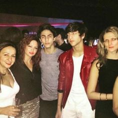 Aryan and friends