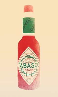 Tabasco Art Print