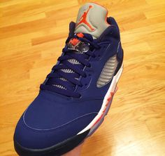 Knicks Fans Are Getting Their Own Air Jordan 5 Low