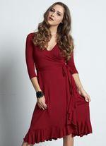 Flamenco Wrap Dress