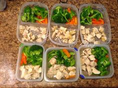 Diary of a Fit Mommy: 5 Top Foods to Meal Prep For The Week