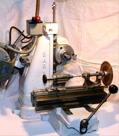 Barker Milling Machines - United States - pictures and descriptions. Milling Machine, Machine Tools, Metal Working Machines, Metal Mill, Robot Factory, Belt Grinder, Maker Shop, Tool Shop, Metal Crafts
