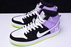 """hot sale online 16af6 ad0fa 2018 Nike Dunk High Prm SB """"Send Help 2"""" BlackMortar-Dark Raspberry  616752-016"""