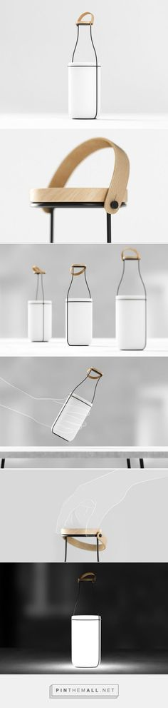 MU Pack For Light #concept #packaging #lamp designed by Constantin Bolimond - http://www.packagingoftheworld.com/2015/05/mu-pack-for-light-concept.html
